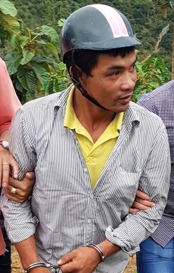 Trần Quốc Vũ được dẫn đến khu rẫy phi tang xác nạn nhân.