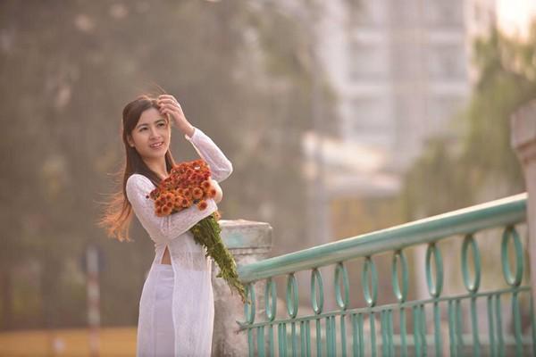 Không chỉ là MC giỏi giang, Ngọc Anh còn là người mẫu ảnh được nhiều nhiếp ảnh gia yêu thích.