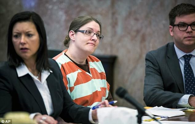 Nicole Finn ở trên phiên tòa ngày thứ 6 (26/1). (Ảnh: Internet)