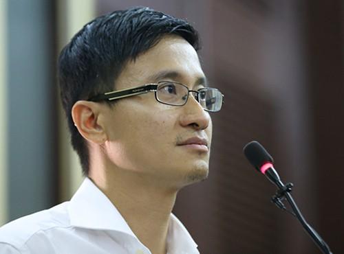 Cao Toàn Mỹ trong phiên xử Phương Nga tháng 6/2017: Quỳnh Trần.