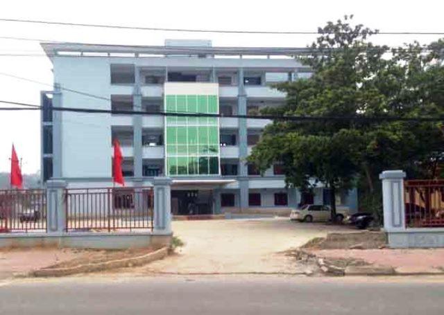 Trụ sở UBND huyện Thanh Thủy, tỉnh Phú Thọ.