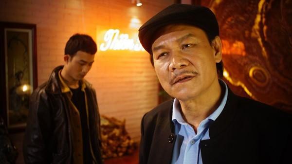 NSƯT Nguyễn Hải đã để lại nhiều dấu ấn khi hóa thân vào vai Cấn - động chủ Thiên Thai của phim Quỳnh búp bê.