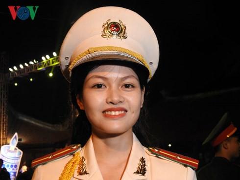 Lê Thị Thùy Linh, thủ khoa kép Học viện Cảnh sát Nhân dân.