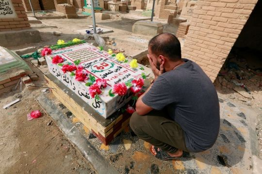 Người Iraq thương tiếc sự ra đi của Tara Fares.
