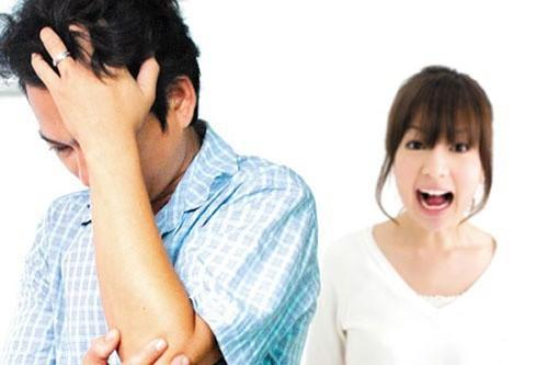 98% đàn ông sợ vợ nói nhiều. Ảnh minh họa