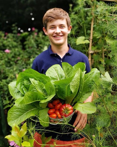 17 tuổi, Arthur, sống ở Brussels, Bỉ, say mê làm vườn thay vì dành thời gian chơi game như các bạn của cậu.