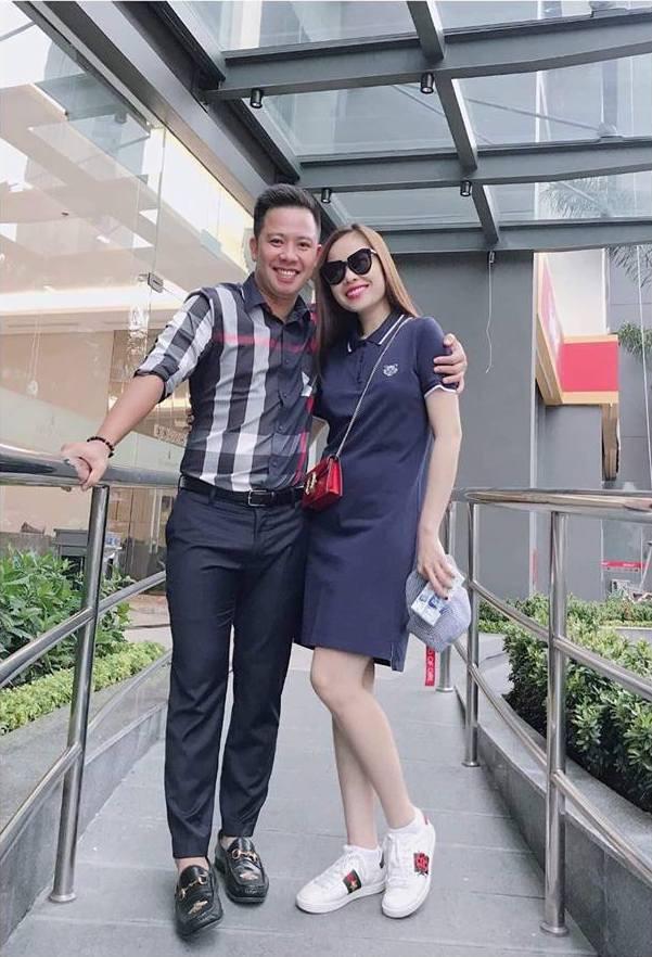 Giang Hồng Ngọc và bạn trai.
