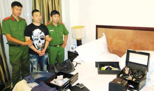 Văn Kính Dương thời điểm bị bắt.