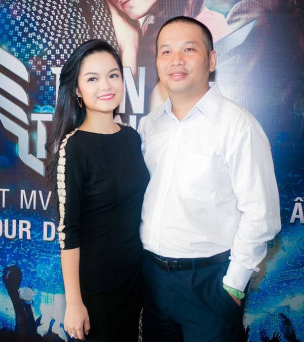 Phạm Quỳnh Anh và chồng lúc còn hạnh phúc.