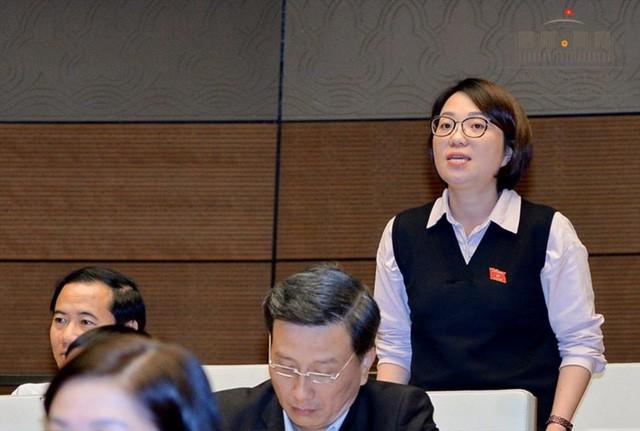 Đại biểu Phạm Thị Minh Hiền - Phó Giám đốc Sở LĐ,TB&XH tỉnh Phú Yên.