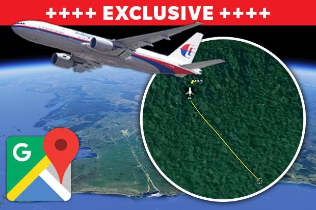 Máy bay Mh370 trượt dài khi đâm xuống rừng Campuchia?