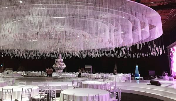 Không gian tiệc cưới sang trọng, chất lượng 5 sao của khách sạn nổi tiếng Sài Gòn. Ảnh VTC