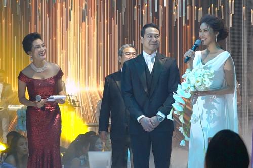 Hai vợ chồng Lan Khuê chia sẻ về những kỷ niệm tình yêu.