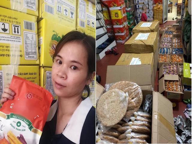 Chỉ qua lần ăn đầu tiên, chị Chinh đã mạnh dạn trở thành mối buôn hoa quả sấy, sau đó mở rộng thêm đa dạng nhiều mặt hàng khác.