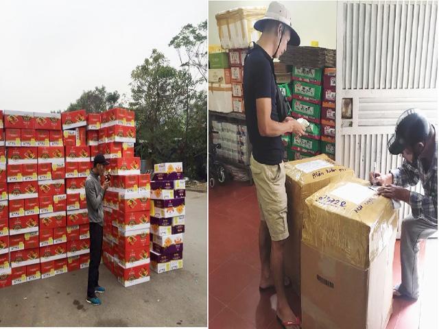 Anh Phương đảm nhận việc quản lý hàng hóa, nhập - xuất hàng rất thành thục và chuyên nghiệp.