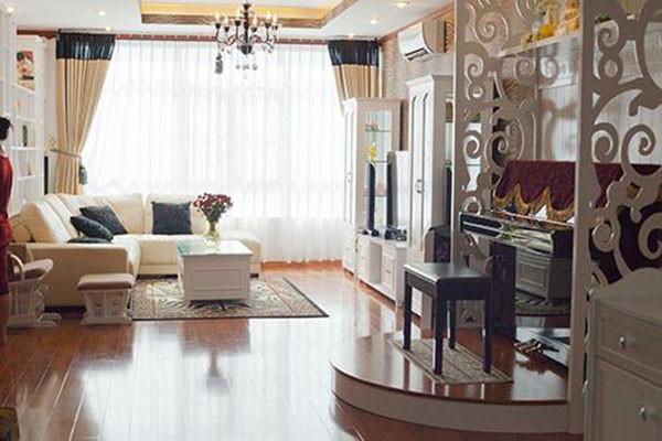 Một góc trong căn hộ cao cấp Ốc Thanh Vân từng ở.
