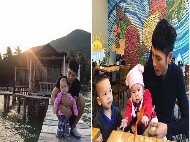 Ngoài quản lý hàng hóa, anh Phương còn đảm nhận việc chăm sóc các con và việc nhà vì chị Chinh bị suy nhược cơ thể nặng sau sinh bé gái thứ 3.