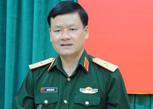Thiếu tướng Nguyễn Văn Đức. Ảnh: VT.