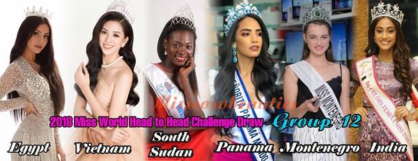 Hoa hậu Trần Tiểu Vy sẽ phải đối đầug với nhiều ứng viên nặng kỳ trong Miss World 2018.