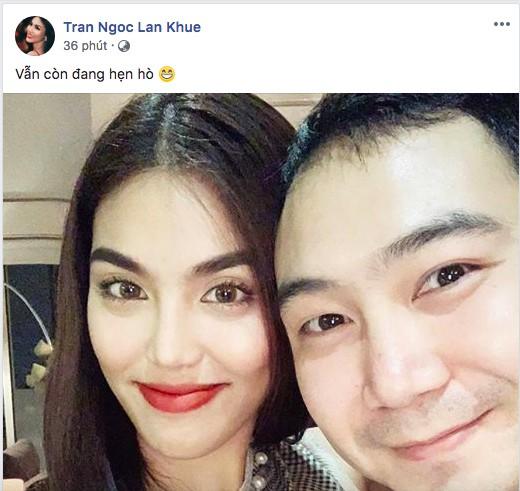 Vợ chồng Lan Khuê - John Tuấn Nguyễn vui vẻ bên nhau