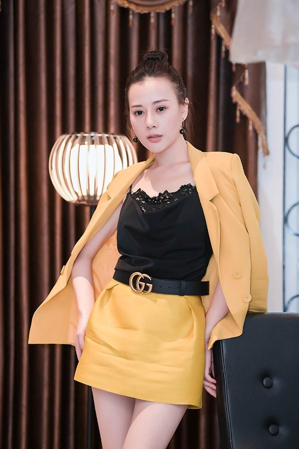 Phương Oanh tại một sự kiện hôm 13/11.