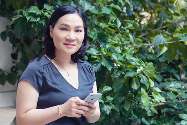 Biên tập viên Kim Ngân - biên kịch chính của bộ phim Quỳnh Búp Bê.