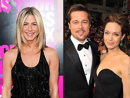 Angelina Jolie trước đây đã mang tiếng giật chồng của Jennifer Aniston.