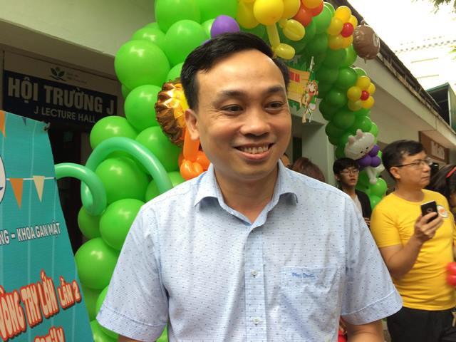 TS Trần Anh Quỳnh - Phó Trưởng khoa Ngoại Tổng hợp, BV Nhi TƯ - Người trực tiếp phẫu thuật Kasai cho nhiều bệnh nhi.