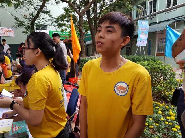 Nguyễn Công Tuyến (SN 1998, sinh viên Học viện Công nghệ GTVT).
