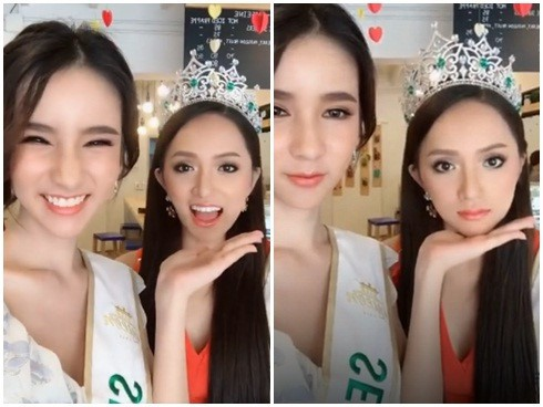 In March, when a & # 39; crowned Miss World, Huong Giang defeats 2 Yoshi Rinrada Thurapa. For some months, the beauty of the girl was influenced by the beautiful beauty of Huong Giang.