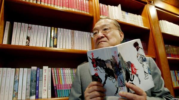 Nhà văn Kim Dung đau đáu mãi mối tình với giai nhân Hạ Mộng.