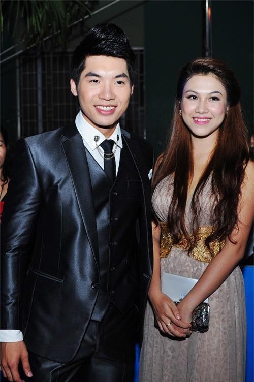 Trương Nam Thành từng công khai hẹn hò với Hoàng Yến.