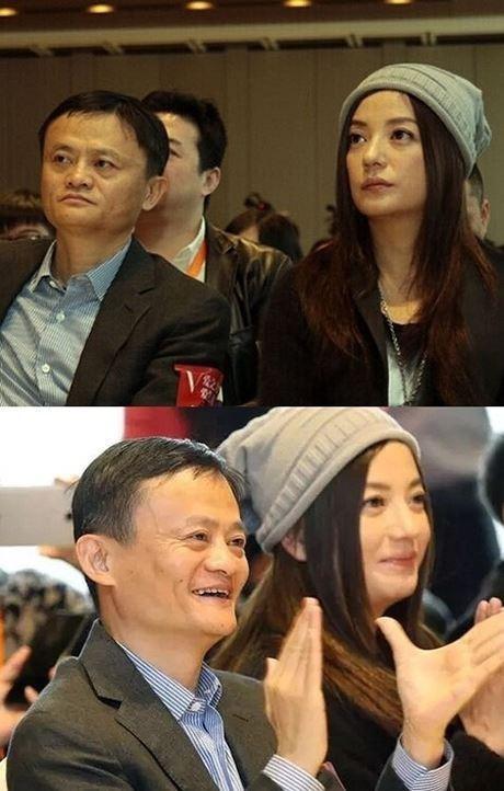 Jack Ma phủ nhận thân thiết với Triệu Vy.