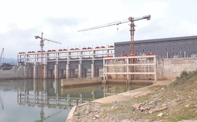 Nhà máy Thủy điện Cẩm Thủy 1. (ảnh: Internet)