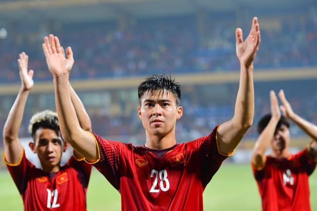 Đội tuyển Việt Nam có thành tích bất bại ở vòng bảng AFF Cup 2018. Ảnh: Việt Hùng ( Zing)