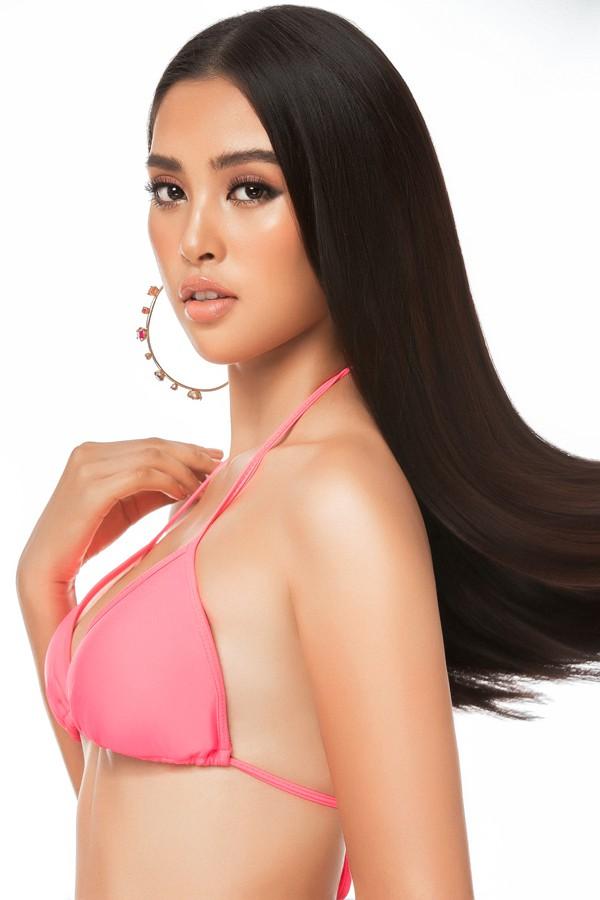 Nhan sắc tròn đây của Hoa hậu Trần Tiểu Vy.