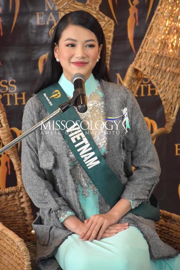 Tân Hoa hậu Trái đất 2018, Nguyễn Phương Khánh trải qua rất nhiều khó khăn trong hành trình đến vương miện.