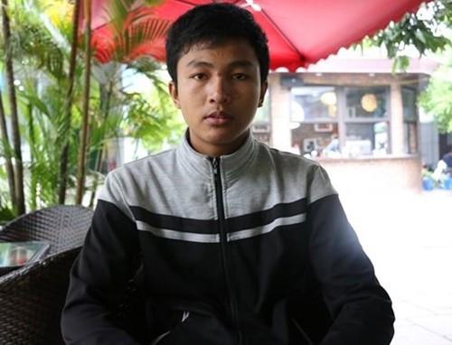 Thí sinh Nguyễn Quang Huy. Ảnh: Tiền Phong.