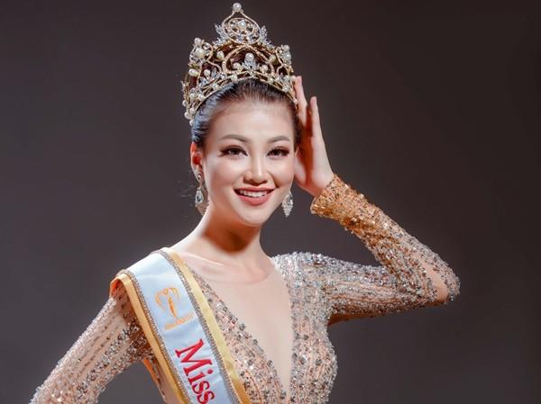 Nguyễn Phương Khánh đăng quang Hoa hậu Trái đất trong sự ngỡ ngàng của công chúng. Ảnh NVCC