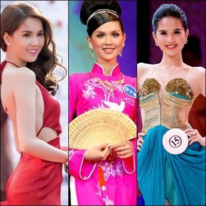 Những lần Ngọc Trinh đăng quang tại các cuộc thi sắc đẹp