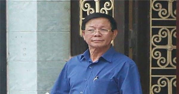Ông Phan Văn Vĩnh trong lần làm việc với Công an Phú Thọ (ảnh tư liệu)