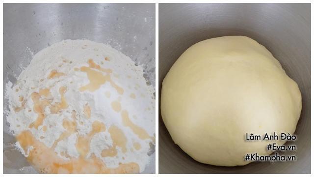 Lưu ý: Phải ủ 2 lần để bánh mì mềm dai ngon hơn.