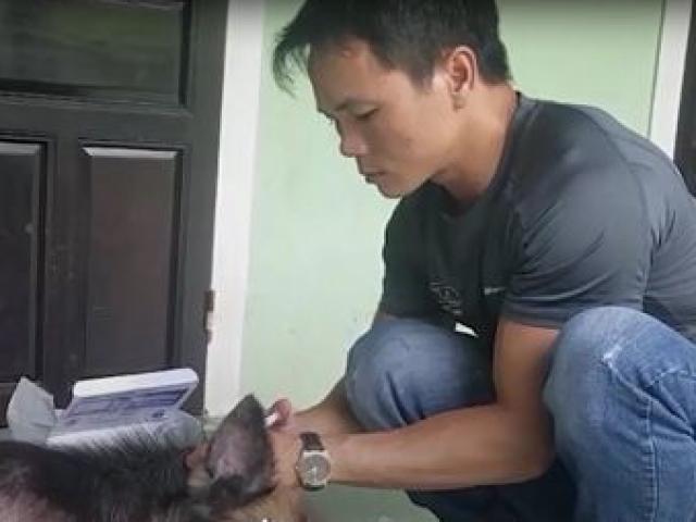 Khi đang làm ăn khấm khá, năm 2009, tai họa lại giáng xuống gia đình anh khi chẳng may Hiếu bị bỏng nặng phải đi Hà Nội điều trị.