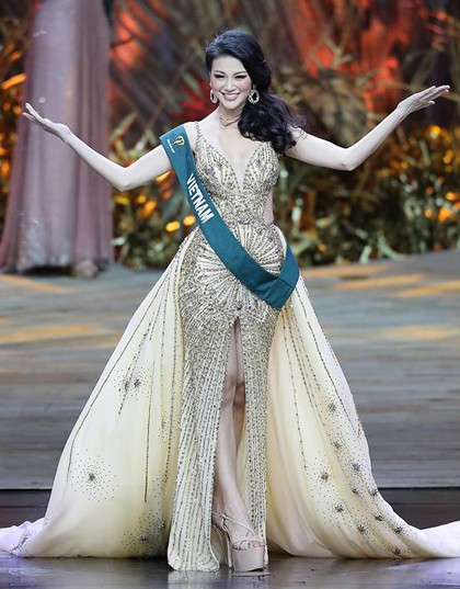 Siêu mẫu Hà Anh đánh giá cao thành tích mà Phương Khánh vừa đạt được tại Hoa hậu Trái đất