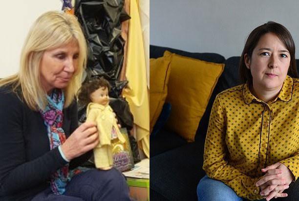 Sally Willis (phải) nói rằng cô bị cấm bước vào trường tiểu học Heron Cross ở Staffordshire một năm, bởi cô khiếu nại cô chủ nhiệm Dorrie Shenton (trái)