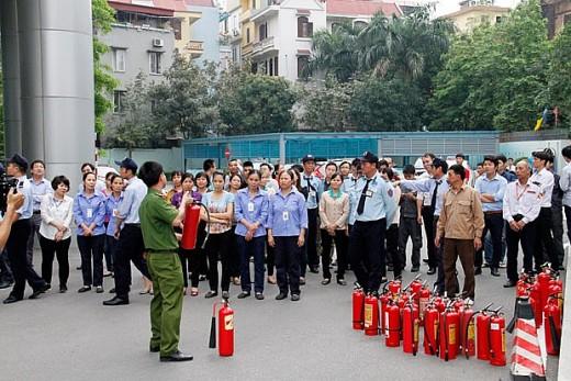 Người dân cần học các kiến thức phòng cháy chữa cháy. Ảnh minh họa.