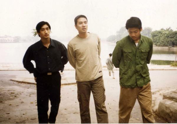 Phim Hoa cỏ may gây sốt một thời nhờ quy tụ dàn diễn viên trẻ đẹp của làng mẫu (bên phải là diễn viên Hải Anh)