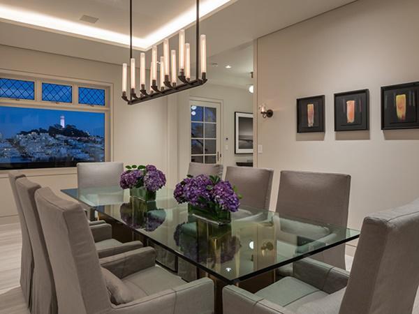 Phòng ăn là nơi kết nối các thành viên trong gia đình, nên việc thiết kế phòng ăn rất quan trọng