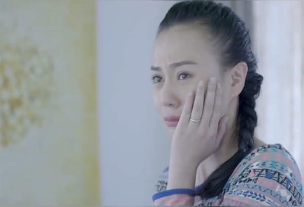Trước khi nổi tiếng với Quỳnh búp bê, Phương Oanh gây ấn tượng trong phim Ngược chiều nước mắt.