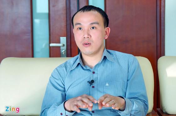 TS Hoàng Phúc Lâm, Trưởng phòng Dự báo Khí hậu. Ảnh: Hoàng Hiệp.